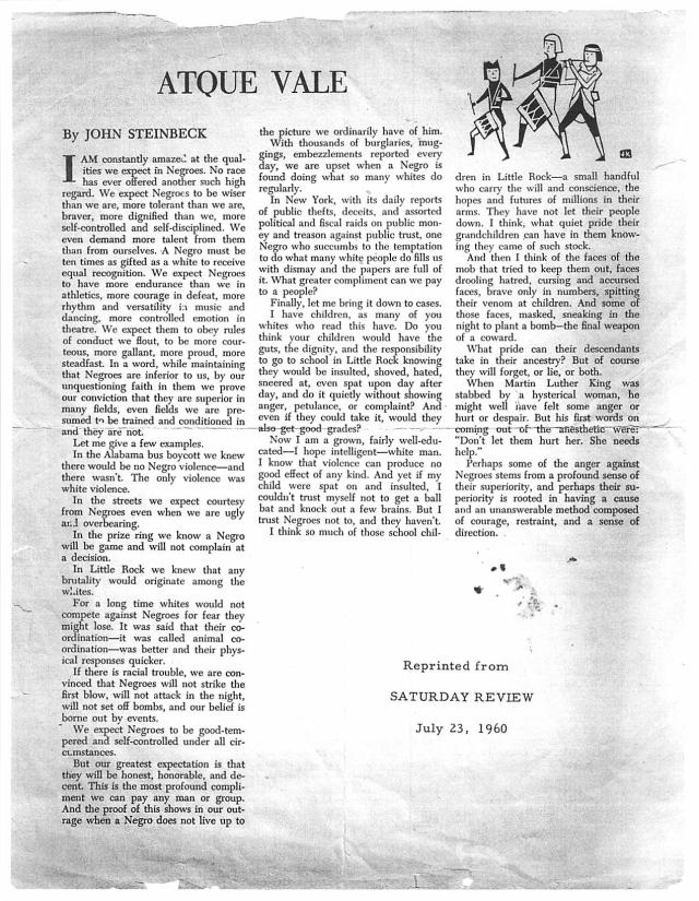 2013_11_23_15_32_11 ATQUE VALE John Steinbeck essay July 23 1960
