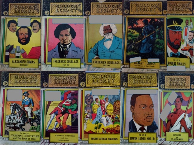 Golden Legacy Black History Comics